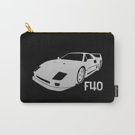 Ferrari F40 - silver - Carry-All Pouch