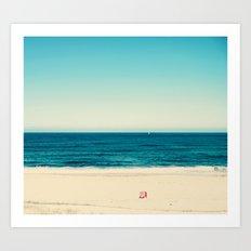 beach feeling Art Print