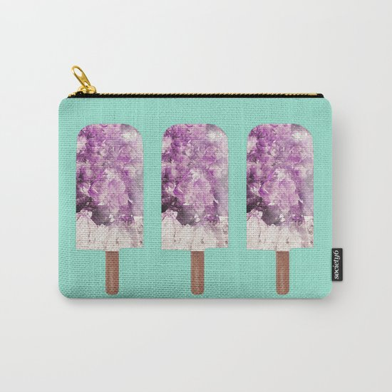 Amethyst Popsicle Carry-All Pouch