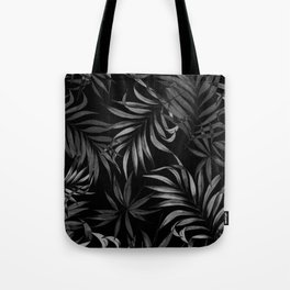 Dark Palms Tote Bag