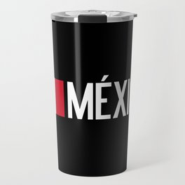 Mexican Flag & México Travel Mug