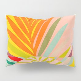 minimal leave tropical spring Pillow Sham
