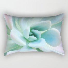 Soft Succulent Rectangular Pillow