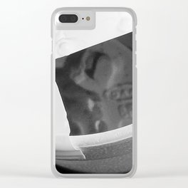 Coffee reflection Clear iPhone Case