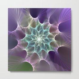 fractal: nexus Metal Print