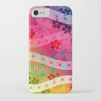 band iPhone & iPod Cases featuring hawaii band by Norma Lindsay