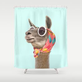 FASHION LAMA Shower Curtain