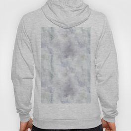 Watercolor lilac violet green abstract brushstrokes Hoody