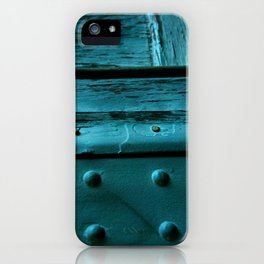 Fragments of Time: Iron Horse Series No. 007 iPhone Case