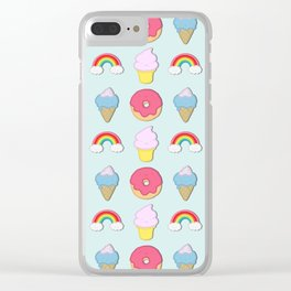 Happy Candyland Clear iPhone Case