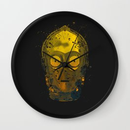 C3PO Splash Wall Clock