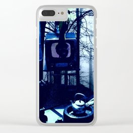 Steep in the Floor Boards Clear iPhone Case