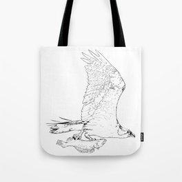 #inktober2016:flight Tote Bag