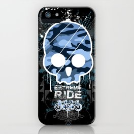 Extreme ride iPhone Case