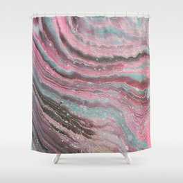 unicorthern lights Shower Curtain