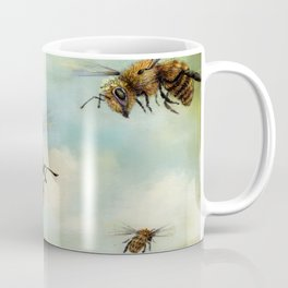 Crown of Bees Coffee Mug