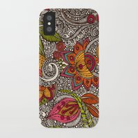 random iPhone & iPod Cases featuring Random Flowers by Valentina Harper