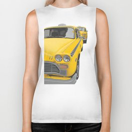 Taxi Stand Cut-Out Image Biker Tank
