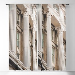 Pillars of the Neighborhood - NYC Photography Blackout Curtain