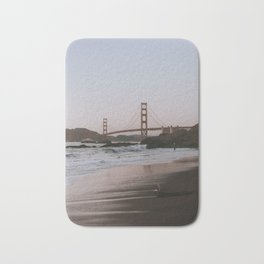 Last Light at Baker Beach in San Francisco Bath Mat