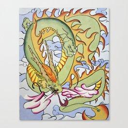 Cloud Drak Canvas Print