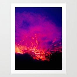 Fire Gods Art Print