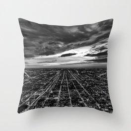 rapture, meet urbania Throw Pillow