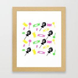 Chappy the Shiba Dog© Chupa Chappy Framed Art Print