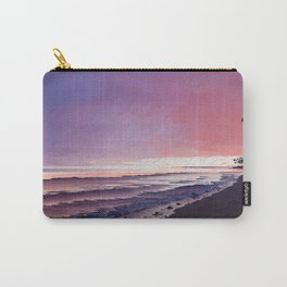 Maui Sunset Pixel Sort Carry-All Pouch