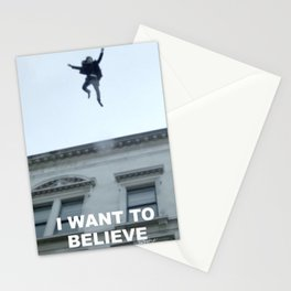 I Want to Believe in Sherlock Holmes Stationery Cards
