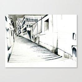 Maltese Steps Canvas Print