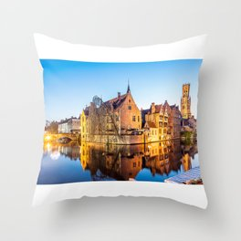 Bruges Throw Pillow