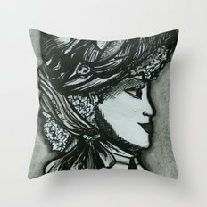 Victorian II Throw Pillow