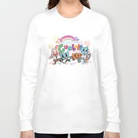 gumball Long Sleeve T-shirts featuring GUMBALL by Suyeda