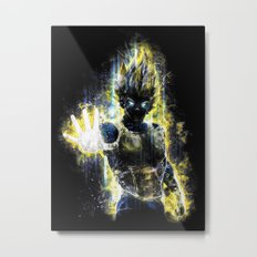 The Prince of all fighters Metal Print