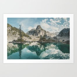 Watersprite Lake Art Print