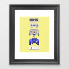 Nintendo Framed Art Print