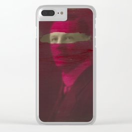 Today, I am a stronger man 10 Clear iPhone Case