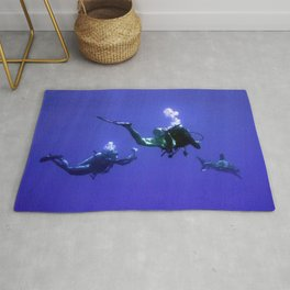 Photographing an Oceanic Whitetip Rug
