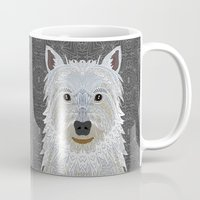 westie Mugs featuring Westie by ArtLovePassion