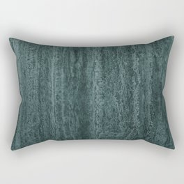 Black gray green abstract modern marble Rectangular Pillow