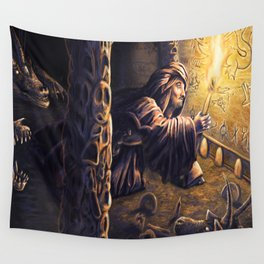Ruins of The Nameless City Wall Tapestry