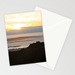 View of the San Francisco Bay Area from Grizzly Peak Stationery Cards