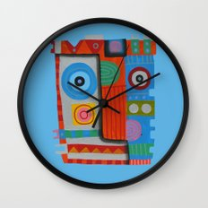 Your self portrait Wall Clock