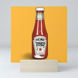 A love of Ketchup Mini Art Print