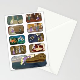 Little Sea Lady II Stationery Cards