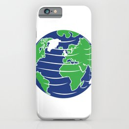 The Earth's Rotation Makes My Day Fun Gift iPhone Case