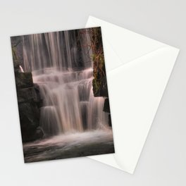 Penllergare Valley waterfall Stationery Cards
