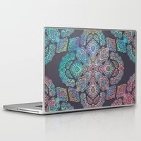 boho Laptop & iPad Skins featuring Boho Intense by micklyn