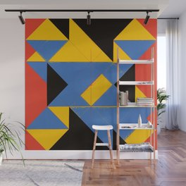 Logical Painting no.1 Wall Mural